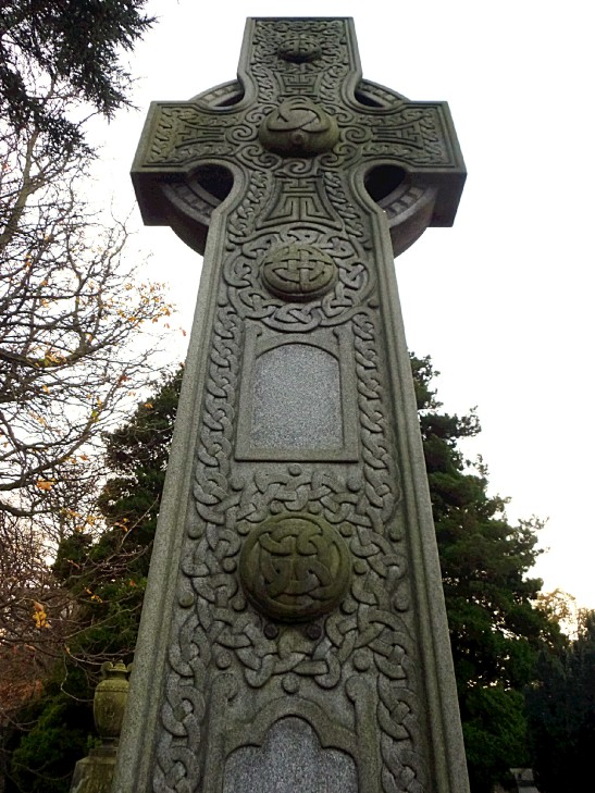 McGlashen high cross, Celtic Art, Dean Cemetery, Edinburgh