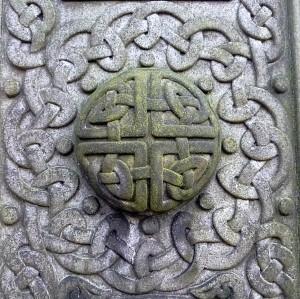McGlashen carving, Celtic Art, Dean Cemetery, Edinburgh