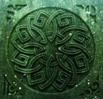 Endless knot, Celtic artwork, 19th century
