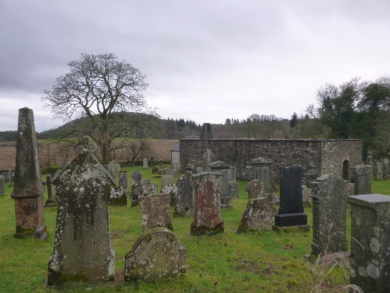 Aberfoyle Old Kirkyard, Doon Hill, Aberfoyle, Highlands, Scotland