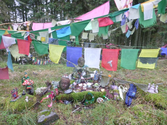 Shrine, Samye Ling