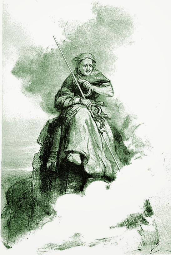 The witch of Ben Y Gloe (1839)